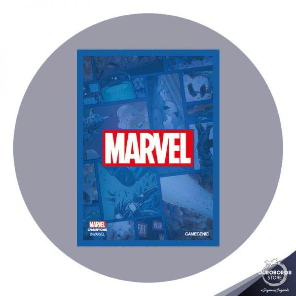 GG Art Sleeves Marvel Champions - Marvel Azul